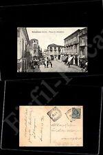 Barcellona pozzo di Gotto (ME), piazza S.Sebastiano - 18.10.1912