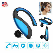 US Wireless Bluetooth Headset Handsfree MIC Earphone For Samsung S7 S6 S5 Nokia