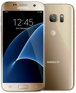 Samsung Galaxy S7 G930A | Unlocked | GSM ATT T-Mobile | 32GB | Gold
