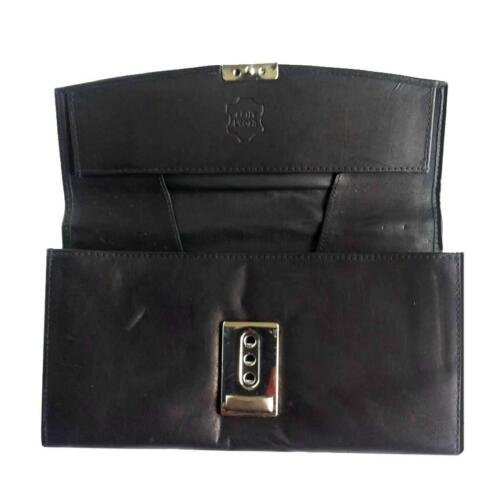 Leather Waiter Wallet Coin Purse Waiter/'s Pouch Wallet Taxi Bag Wallet