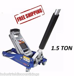1 5 Ton Compact Size Aluminum Racing Floor Jack Rapid Pump