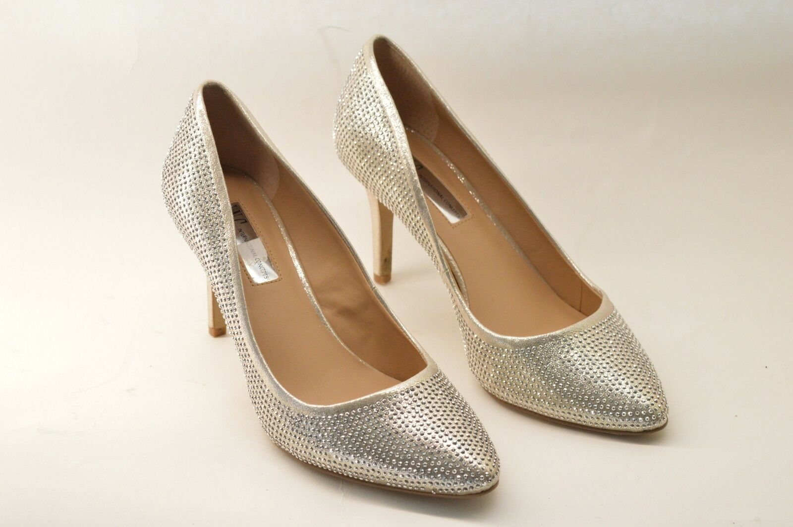 International Concepts I.N.C ZITAH3gold Pearl gold Pumps, Women's shoes, Size 8
