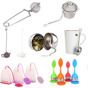 1x-Tea-Infuser-Ball-Mesh-Loose-Leaf-Herb-Strainer-Stainless-Steel-Secure-Locking