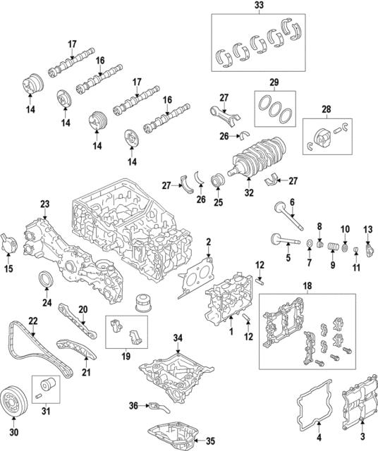 Buy Subaru Oem 2015 Wrx Engine Cylinder Head Gasket 10944aa110