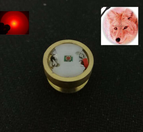 Replaceable Module CREE XP-E2 2TH Red LED Light For HS-802 Flashlight Torch