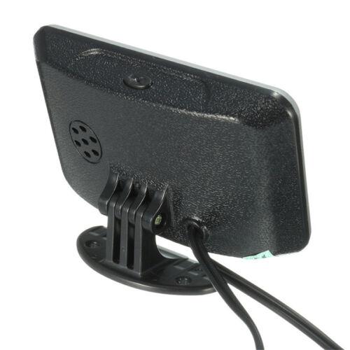 LCD 4In1 Multifunction Car Digital Voltmeter Water Temp Oil Pressure Fuel Gauge
