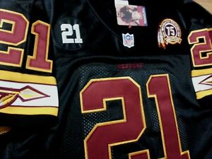 online store 8073f 99574 Details about Redskins black Sean Taylor Throwback classic #21 dual Patch  sewn Jersey Free SH