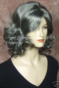 Black-with-65-Silver-Grey-Wig-for-Elder-Ladys-Brilliant-Fibre-Great-Quality
