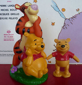 Special-Lot-of-2-PVC-Toys-Winnie-the-Pooh-and-Tigger-6-039-039-Walt-Disney