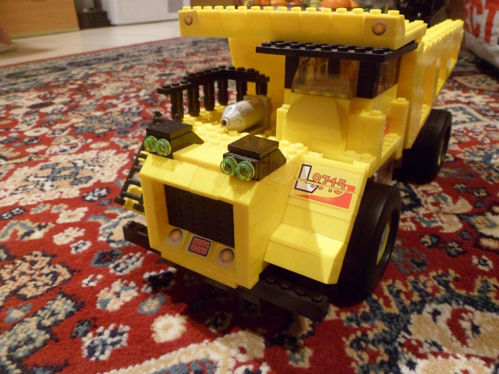 Rare MEGA BLOKS PRO-BUILDER COLLECTOR COLLECTOR COLLECTOR SERIES - DUMP TRUCK 9715 from 2000 7+ d0e187