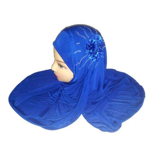 Velo con strass Islam copricapo Jadeed muslima Panno Hijab Khimar Niqab