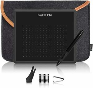 USB-Graphic-Drawing-Tablet-Board-and-Pen-Set-in-Carry-Case-OSU-for-Windows-Mac