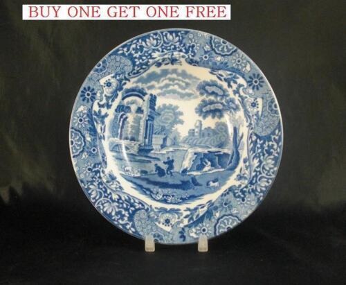 "Spode Blue Italian 6.5/"" Fruit Dish with Rounded Rim    BOGOF               S1050"