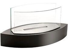 Design Luxus Tischkamin mit Edelstahlkammer für Bio-Ethanol
