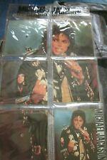 Michael Jackson - Souvenir Singles Pack (5x Square Picture Discs)  . FREE UK P+P