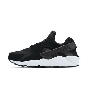 a188373fc5b6 318429-035  Men s Nike Air Huarache Running Shoes -Black White-  NEW ...