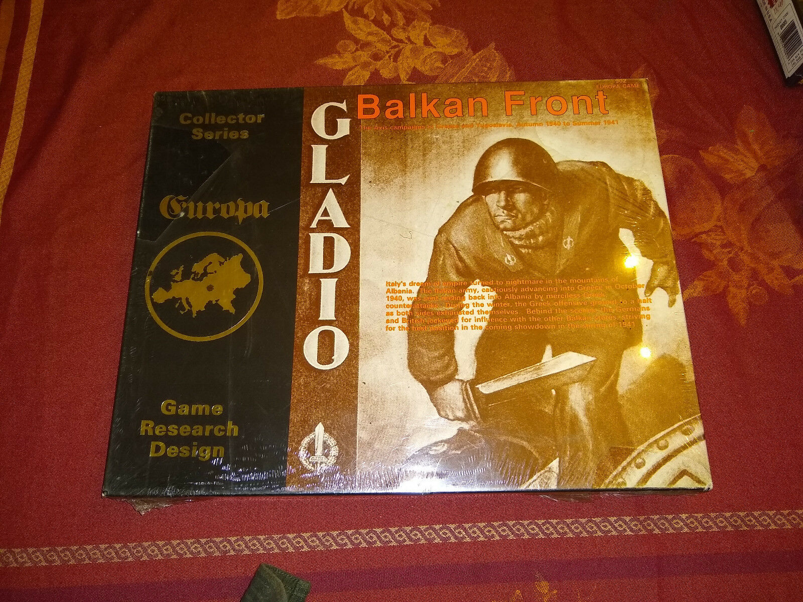 Gladio Balkan Front Europa Series 902 GRD Shrink Wrapped Unpunched