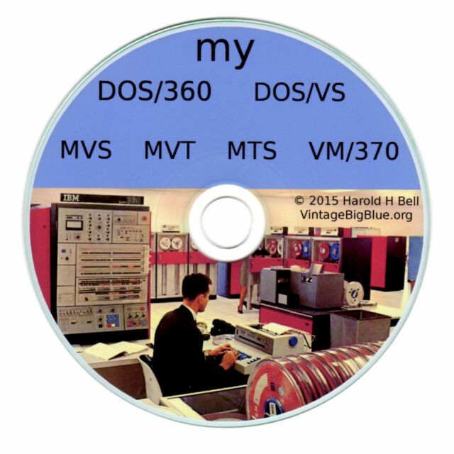 myMainframe on PC DOS360-DOSVS-MVS-VM370-MTS-MVT  420*SOLD   FORTRAN  COBOL