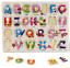 miniature 21 - Neuf Pour Bébé Puzzle Enfants Puzzle Alphabet Lettres Animaux en bois Learning Toys
