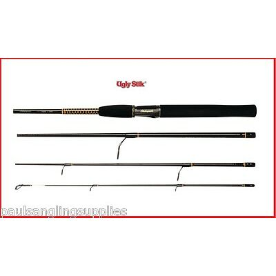 Shakespeare Ugly Stik Travel Spin / Spinning Fishing Rod In Tube  1156008