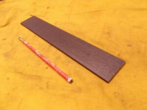 """20mm OD x 26-5//16/"""" OAL Chrome Plated Steel Bar W// Countersunk Mounting Holes"""