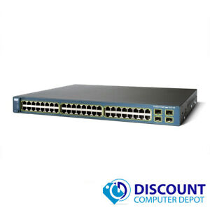 Cisco-WS-C3560-48PS-S-Catalyst-48-Port-PoE-10-100-Fast-Ethernet-Network-Switch