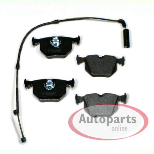 Bremsbeläge Bremsklötze Bremsen Sensor für hinten die Hinterachse BMW e3 e83