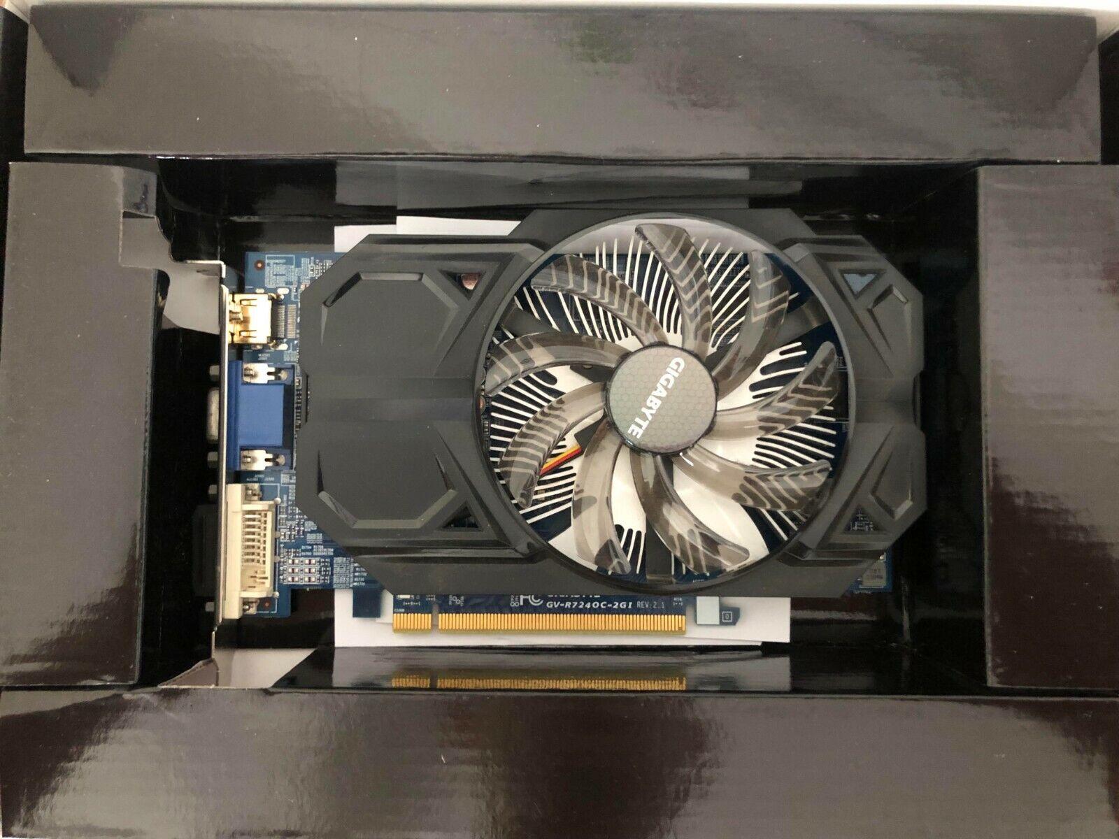 Gigabyte Radeon R7 240, 2048MB DDR3 RCI-E 3.0x8