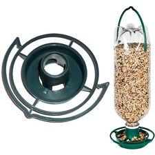 HANGING SODA BOTTLE BIRD FEEDER KIT Wild Top Pop Seed Platform Catcher Garden