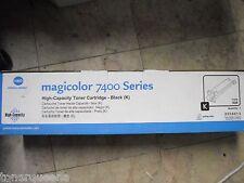 New ! Genuine KONICA MINOLTA MagiColor 7400 7450 HY Black Laser Printer 8938-629