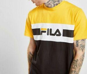 Fila Men's Yellow Mick T-shirt | eBay