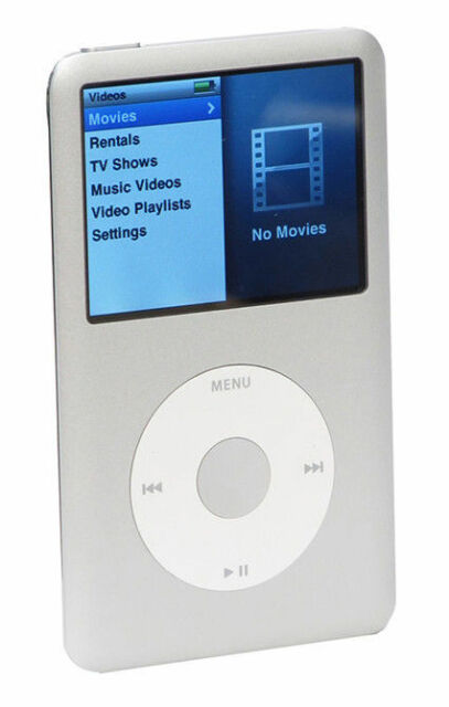 Apple Ipod Classic 6th Generation Silver 80 Gb For Sale Online Ebay