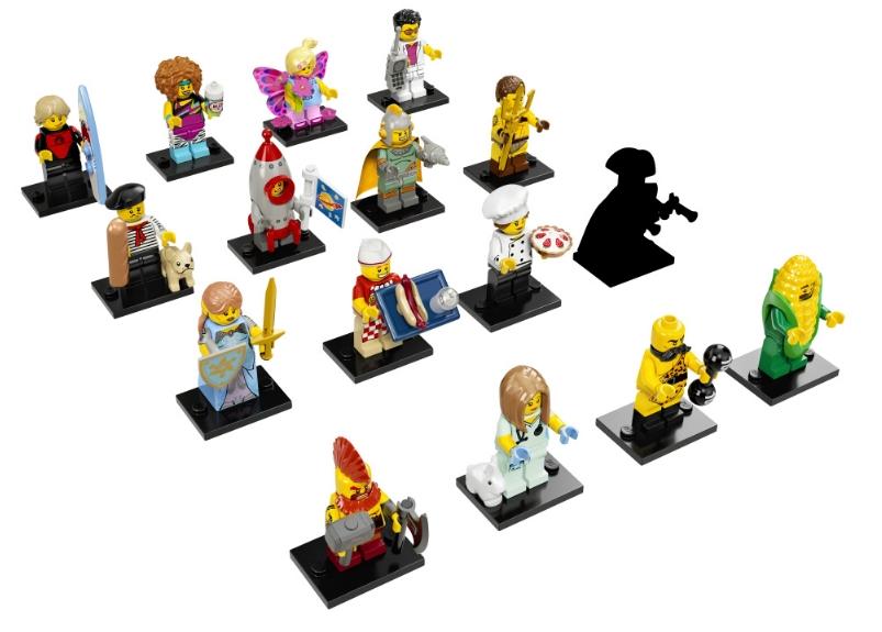 LEGO 71018 Minifigures 17 - MINIFIGURE Serie COMPLETA Lego Minifigures serie 17
