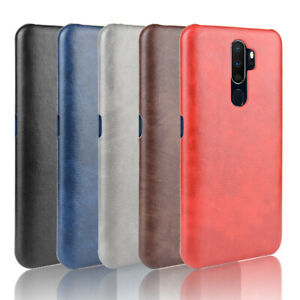 For-Oppo-A9-2020-A5-2020-Case-PU-Leather-Slim-Hard-Skin-Pattern-Back-Cover