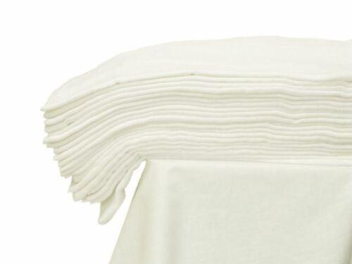 100/% Baumwolle Weiß Baby Musselin Tuch Swaddle Decke Handtuch 70x80 cm