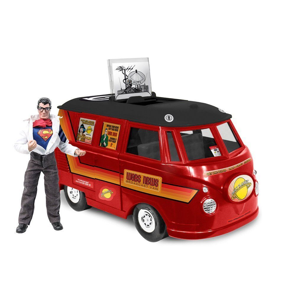 Official DC Comics Bus Playset With Exclusive Clark Kent Figure
