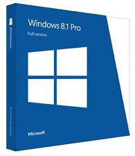Licencia Windows 8.1 Pro / profesional 32/64 bit 100% ORIGINAL - CLAVE / KEY