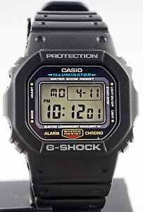 Casio-DW-5600E-1V-G-SHOCK-Mens-Black-Digital-Watch-Classic-Shock-Resistant-New