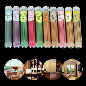 50-Sticks-Incense-Burner-Natural-Aroma-Vanilla-Sandalwood-Rose-Air-Freshener-Box