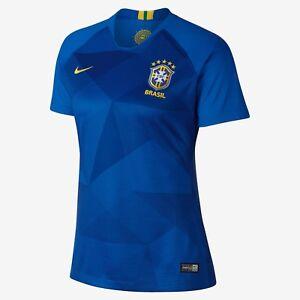 Image is loading NIKE-BRAZIL-AWAY-WOMEN-039-S-JERSEY-WORLD- e1110798f7