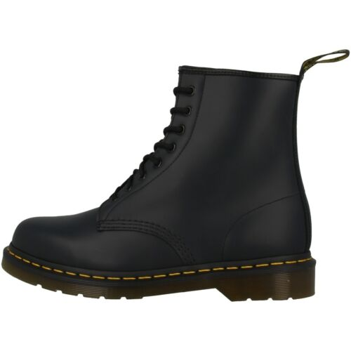Dr Doc Martens 1460 Boots 8-loch Leather Boots Navy Smooth Blue 10072410
