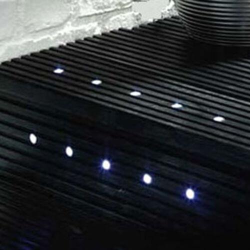 IP65 Led tondo da giardino verande cucina plinto Luci in bianco freddo 6000K 15mm