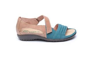 nuevo gancho sandalias Papaki zapatos con Naot abierta plana y correa mujer punta para lazo Pvx5WT6