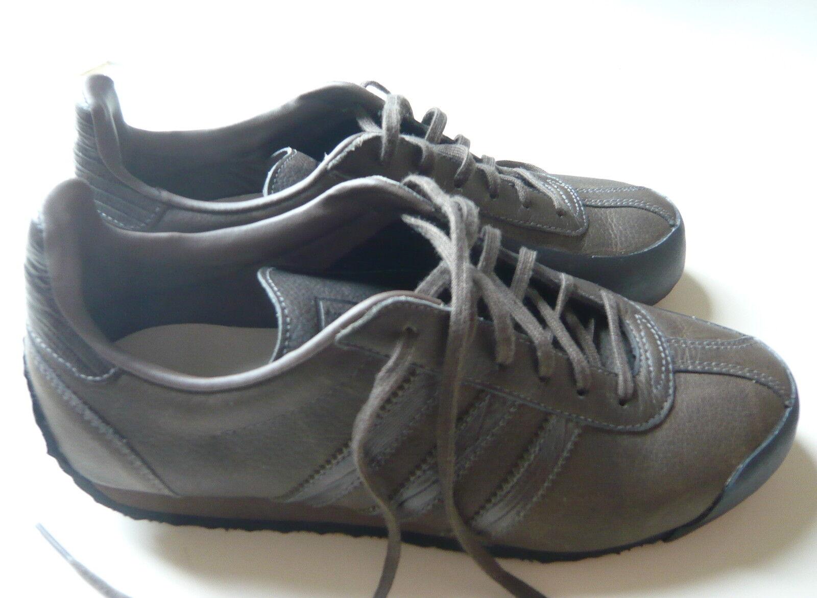 Adidas Lifestyle schwarz Fencing Lea M Sneakers Leder oliv Gummi schwarz Lifestyle Gr. 38 Schuhe 290429
