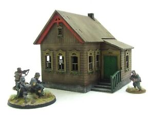 RUSSIAN HOUSE\' - 28mm - ASSEMBLED MDF & PAINTED TO COLLECTOR\'S ...