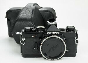 Olympus Om1 35mm film camera reflex analogica body black om mount zuiko lenses
