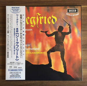 Details about Sir Georg Solti Wagner Siegfried 3 SACD (Vinyl Size Package)  New F/S w/Tracking