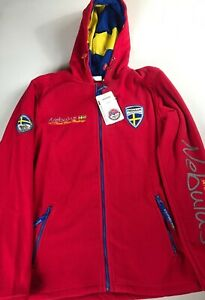 Nebulus-Fleece-Jacket-Adult-L-XL-North-Polar-Challenge-Sweden-Arctic-Hooded-NEW
