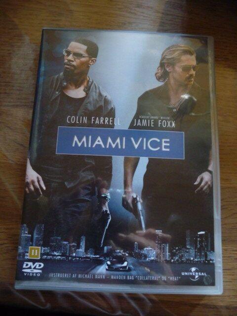 Miami vice, DVD, drama