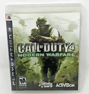 PS3 Call of Duty Modern Warfare 2 Used Tested Works with Manual COD